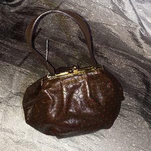 NWOT Unique Retro Genuine Leather Purse